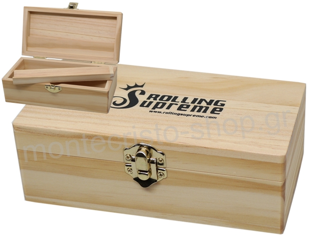 7182 - Rolling Box Rolling Supreme ξύλινο για στριφτό Small 13144