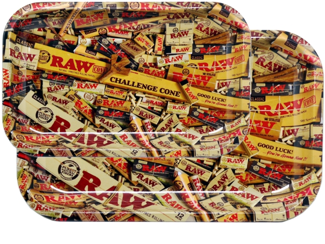 7192 - Δίσκoι RAW MIX METAL ROLLING TRAY MIXED PRODUCTS (13335 / 13336)