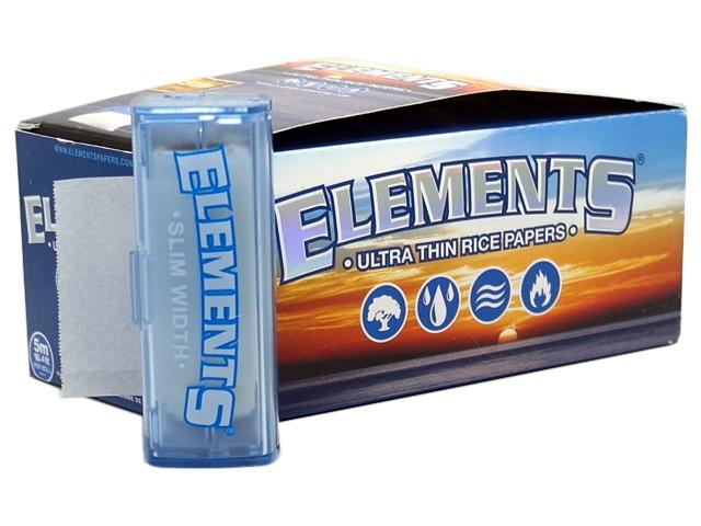 7229 - Κουτί με 10 ΡΟΛΑ ELEMENTS ULTRA THIN SLIM WIDTH (45mm x 5 μέτρα)