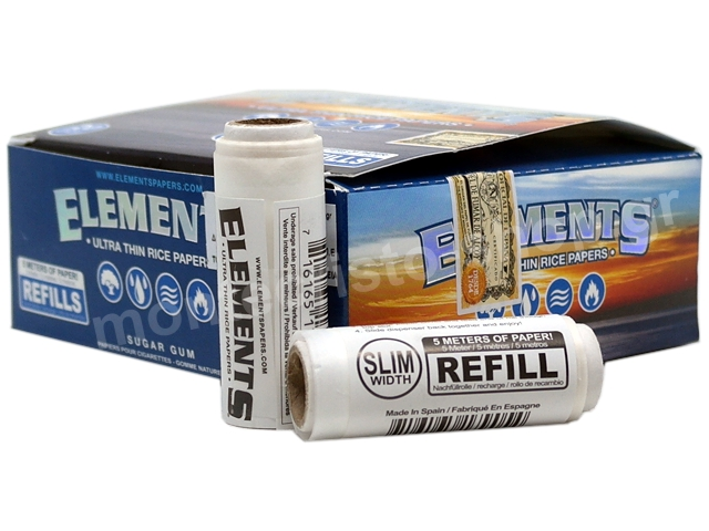 7235 - Κουτί με 20 ΑΝΤΑΛΛΑΚΤΙΚΑ ΡΟΛΑ ELEMENTS REFIL ULTRA THIN SLIM WIDTH (45mm x 5 μέτρα)