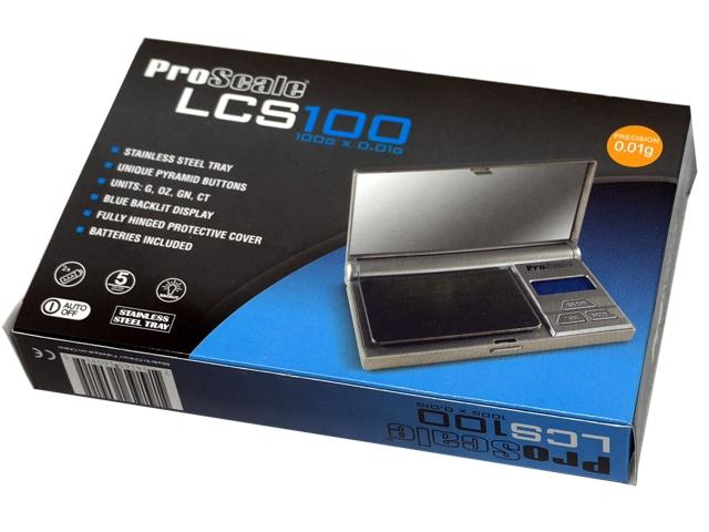 Ζυγαριά ακριβείας PROSCALE LCS 100 (100gr x 0,01gr)