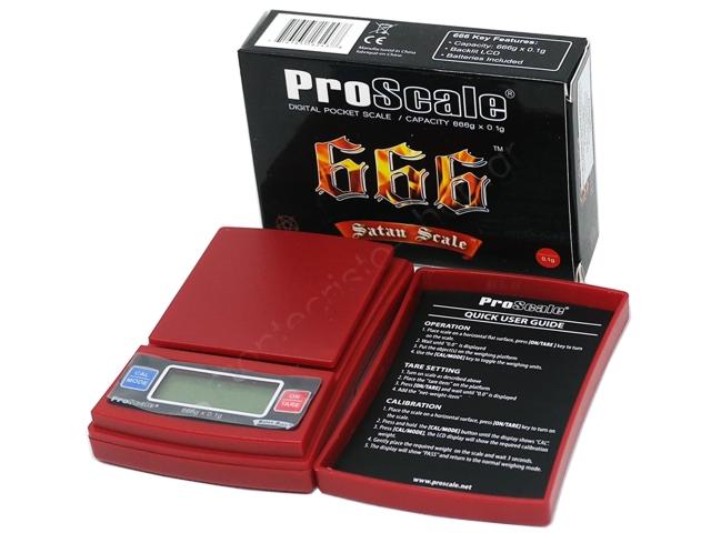 Ζυγαριά ακριβείας PROSCALE SATAN SCALE 666g x 0,1g