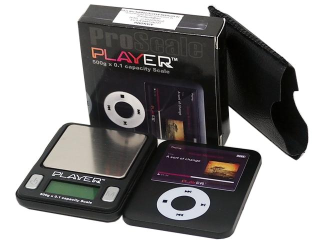 7287 - Ζυγαριά ακριβείας PROSCALE PLAYER 500g x 0,1g IPOD
