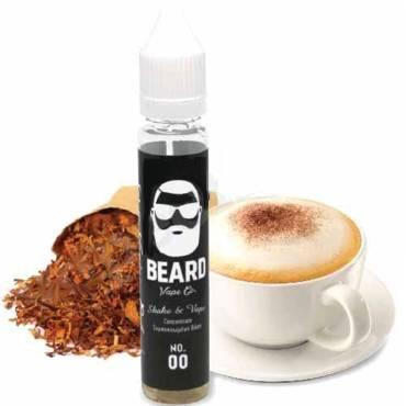 BEARD SHAKE AND VAPE No 00 TOBACCOCHINO 10/30ML (καπνικό και καπουτσίνο)