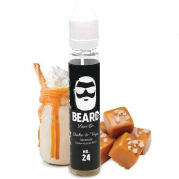 BEARD SHAKE AND VAPE No 24 MALTED CARAMEL 10/30ML (μίλκσεικ καραμέλας)