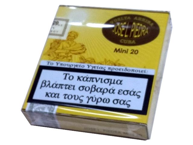 7447 - JOSE PIEDRA MINI 20 CIGARILLOS