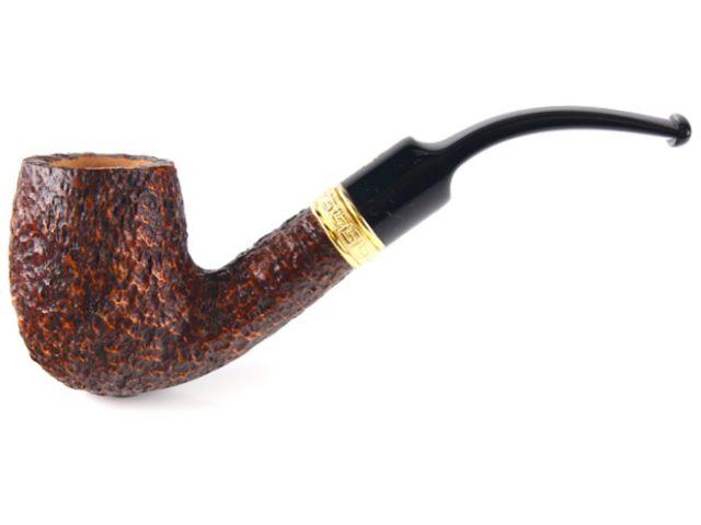 7556 - SAVINELLI TEVERE 607 RUSTICA 9mm KS πίπα καπνού κυρτή