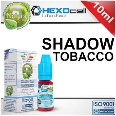7717 - Υγρό αναπλήρωσης Natura SHADOW από την hexocell 10ml (ήπιο καπνικό)