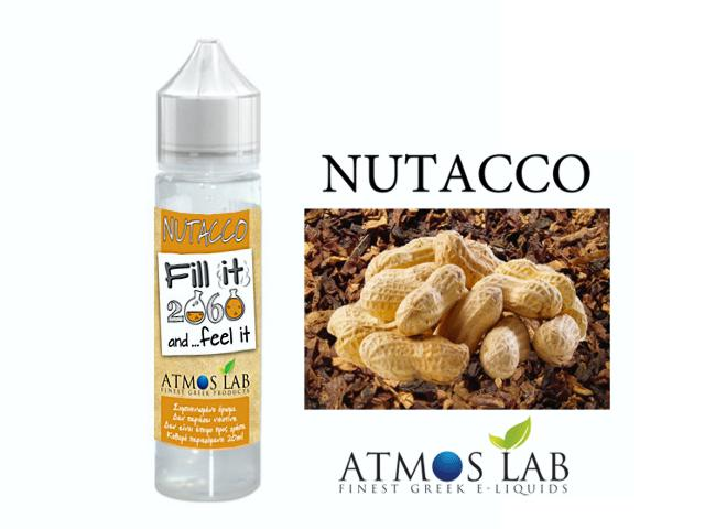 Atmos Lab NUTACCO Fill it & Feel it Shake and Vape 20/60ML (καπνικό και ξηροί καρποί)