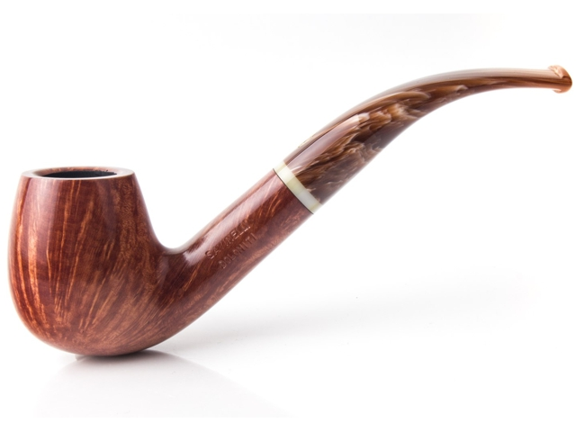 SAVINELLI DOLOMITI MODEL 602 SMOOTH 9mm πίπα καπνού κυρτή