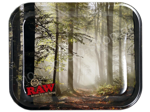 7837 - Δίσκος RAW FOREST METAL ROLLING TRAY 13584