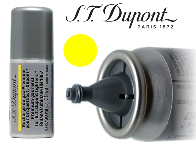 7925 - S T dupont Yellow Gas Refill aέριο αναπτήρων 30ml