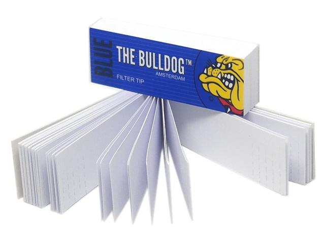 Τζιβάνες THE BULLDOG BLUE Filter Tips (σπαστές)