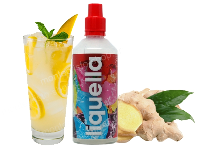 8013 - LIQUELLA MIX AND SHAKE GINGERLEMONADE 50ml/80ml (λεμονάδα με τζίντζερ)