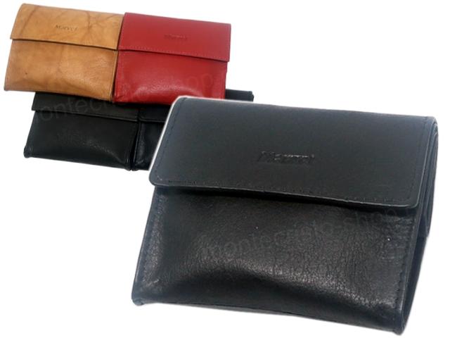 8040 - MARVEL 985 (μαύρο κόκκινο καφέ ταμπά) δερμάτινη καπνοθήκη