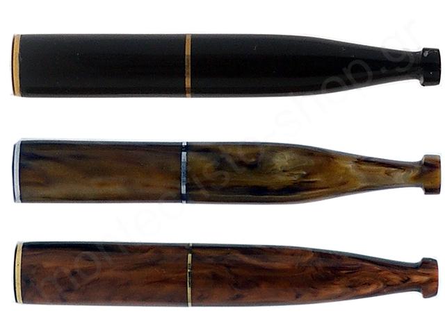 8090 - PIPEX ΑΚΡΥΛΙΚΗ 8mm ΑΝΤΡΙΚΗ ΠΙΠΑ ΤΣΙΓΑΡΟΥ (ΜΑΥΡΗ ΚΑΦΕ ΤΑΜΠΑ)