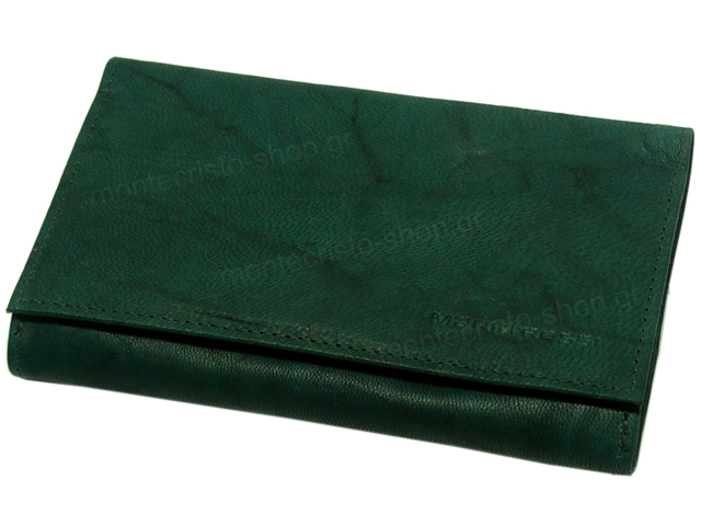 8129 - Mario Rossi 099-06 GR (green) δερμάτινη