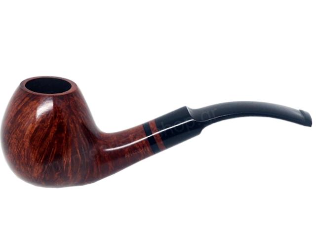8131 - Amadeus Black Ring 10 πίπα καπνού κυρτή