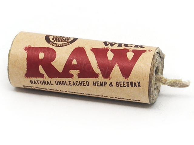 8355 - Raw Hemp Wick 20ft / 6 meters