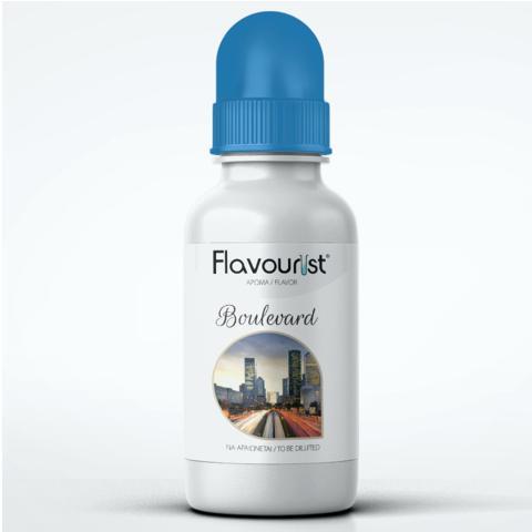Άρωμα FLAVOURIST BOULEVARD 15ml (καπνικό με ξηρούς καρπούς και καραμέλα)