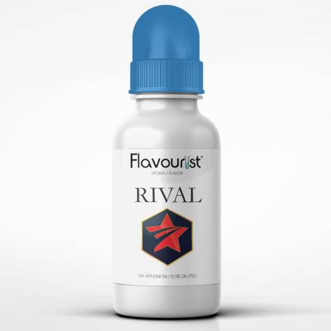 Άρωμα FLAVOURIST RIVAL 15ml (κόκκινα φρούτα, σταφύλια και μέντα)