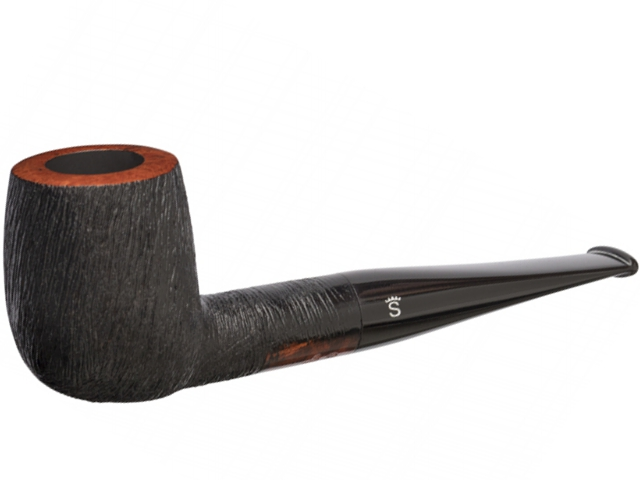 8461 - Stanwell Brushed Black 88 9mm Pipe πίπα καπνού ίσια