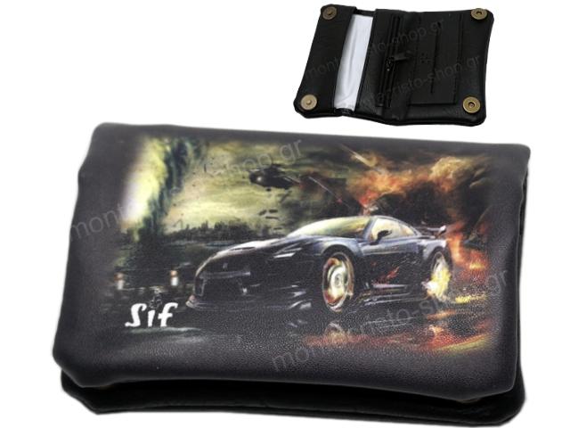 SIF 81 MINI DONUT PRINTED SPOR CAR (για χύμα καπνό) καπνοθήκη