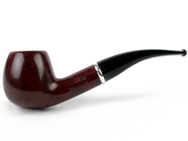 SAVINELLI ARCOBALENO BROWN MODEL 626 SMOOTH πίπα καπνού κυρτή
