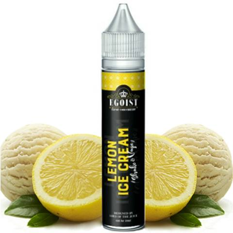 8515 - EGOIST SHAKE AND VAPE LEMON ICE CREAM 6/30ml (παγωτό λεμόνι)
