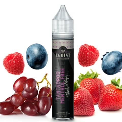 8523 - EGOIST SHAKE AND VAPE TANTADROO MENTHOL FREE 6/30ml (διάφορα φρούτα)