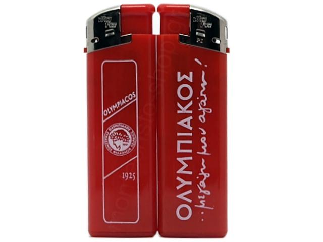 8584 - Αναπτήρας ΟΛΥΜΠΙΑΚΟΣ 338 RED WLDE FIRE electronic μεγάλος