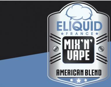 8619 - ELIQUID FRANCE MIX AND VAPE SINGLE AMERICAN BLEND 10/30ML (καπνικό)