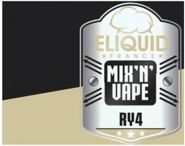 8620 - ELIQUID FRANCE MIX AND VAPE SINGLE RY4 10/30ML (καπνικό με καραμέλα και βανίλια)