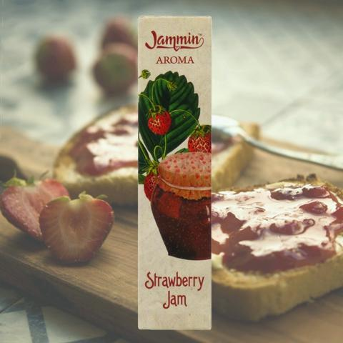 8655 - JAMMIN MIX AND VAPE STRAWBEERY JAM 20/60ml (μαρμελάδα φράουλα)