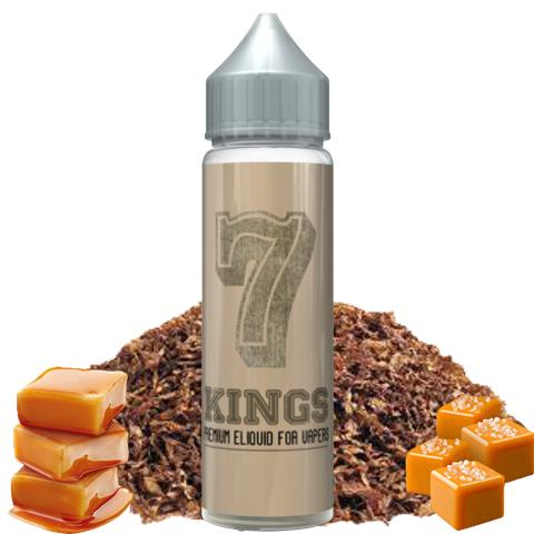 8673 - SEVEN 7 SHAKE AND VAPE KINGS 15/60ml (καπνικό και καραμέλα)