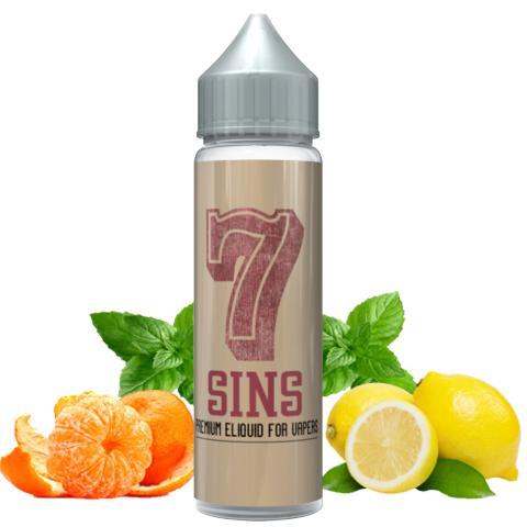 8674 - SEVEN 7 SHAKE AND VAPE SINS 15/60ml (μανταρίνι, λεμόνι και μέντα)
