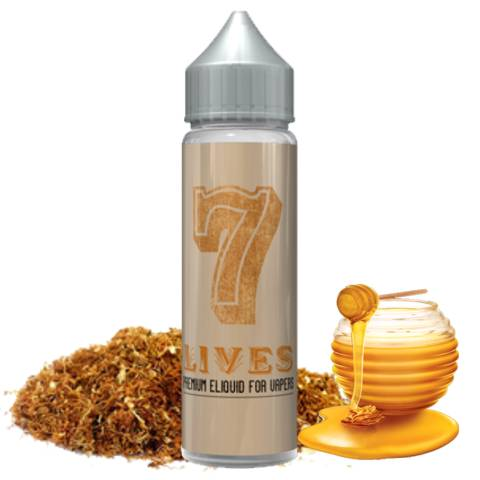 SEVEN 7 SHAKE AND VAPE LIVES 15/60ml (γλυκό καπνικό)