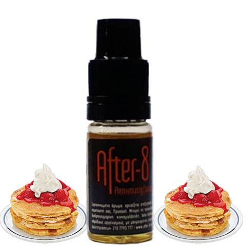 8681 - Άρωμα After 8 CREAMY STRAWBERRY PANCAKES 10ml (τηγανίτες με φράουλα και σαντιγί)