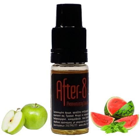 8695 - Άρωμα After 8 GREEN ICE 10ml (μήλο, καρπούζι και δυόσμος)