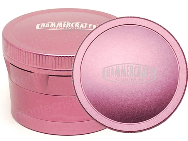 Τρίφτης καπνού HAMMERCRAFT VS53A PINK 4 PARTS ALUMINUM GRINDER 63mm 13703