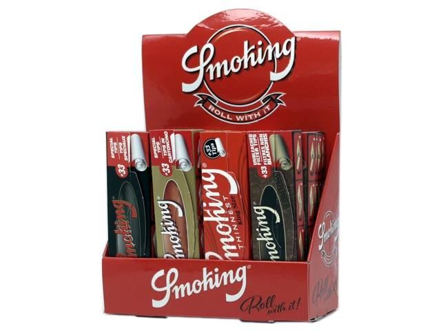 8731 - SMOKING MIX KING SIZE ΜΕ ΤΖΙΒΑΝΕΣ (20 τεμάχια)