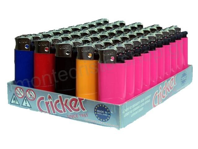 8812 - Κουτί με 50 αναπτήρες Cricket Mini Simplicity