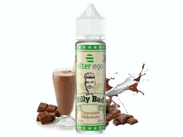BILLY BAD SHAKE AND VAPE CHOCOLATE MILKSHAKE 20/60ml (μιλκσεικ σοκολάτας)
