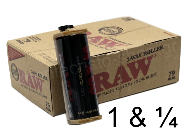 8894 - Μηχανή στριφτού RAW 2-WAY ROLLER (79mm) κουτί 12 τεμαχίων