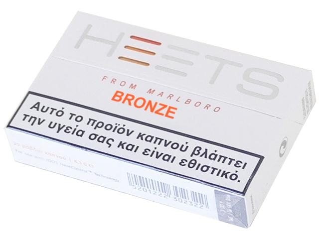 IQOS HEETS BRONZE (20 τεμάχια)