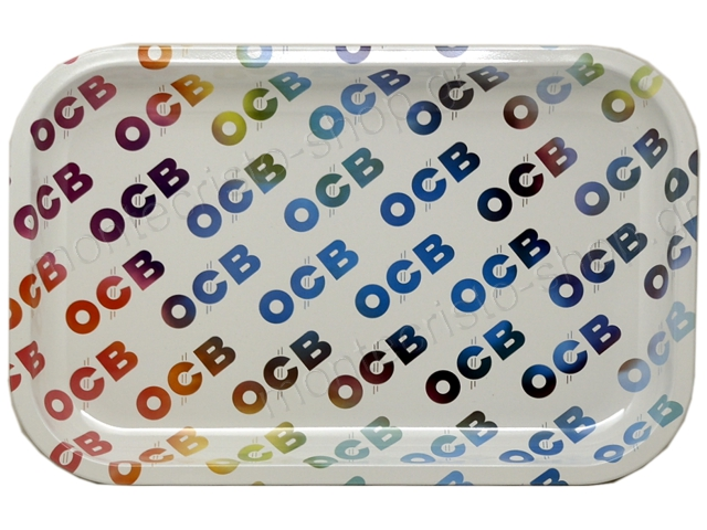 8942 - OCB METAL TRAY MULTICOLOR MEDIUM