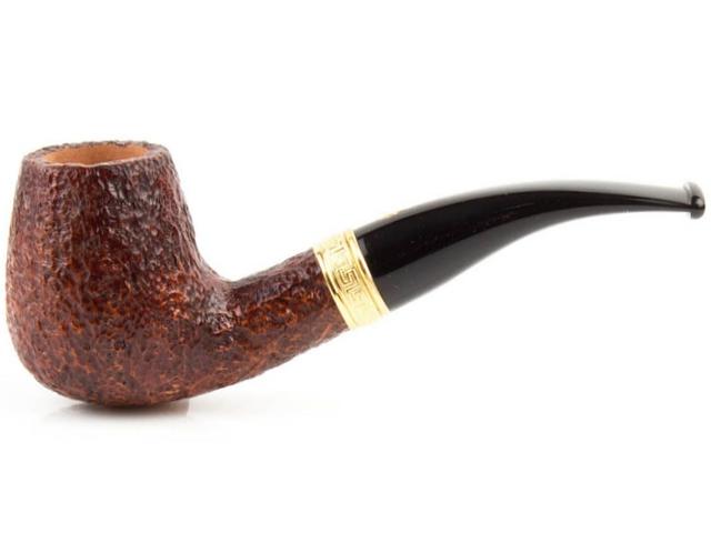 8975 - SAVINELLI TEVERE 628 RUSTIC 9mm πίπα καπνού κυρτή