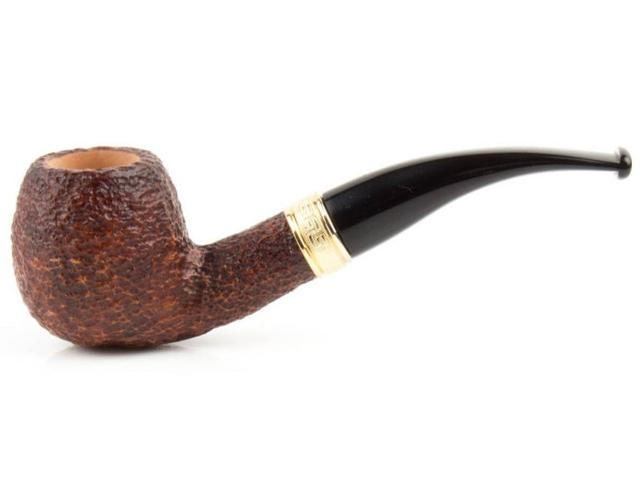 8976 - SAVINELLI TEVERE 626 RUSTIC 9mm πίπα καπνού κυρτή