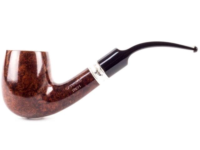 8983 - SAVINELLI TREVI 607 SMOOTH KS 9mm πίπα καπνού κυρτή