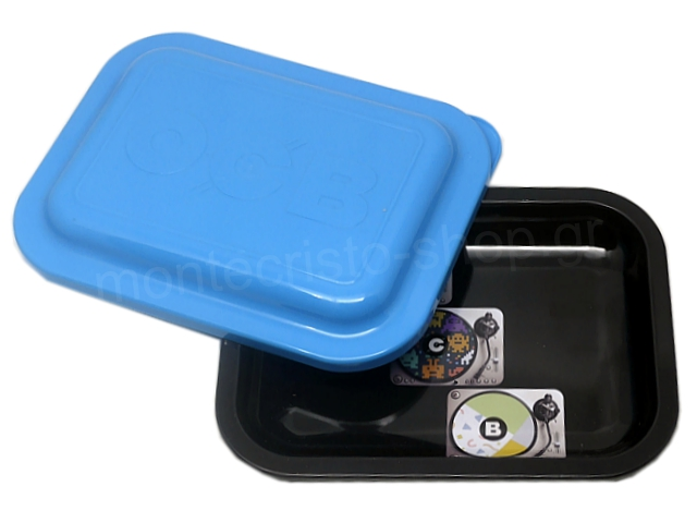 9004 - OCB METAL TRAY MULTICOLOR VINYL SMALL + COVER ΔΙΣΚΟΣ ΓΙΑ ΣΤΡΙΦΤΟ